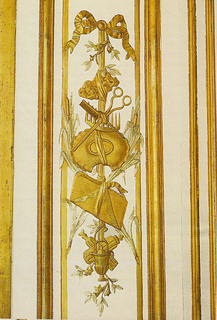 Vaux le vicomte la chambre louis xv yann piriou d cor for Salle de bain louis xv versailles