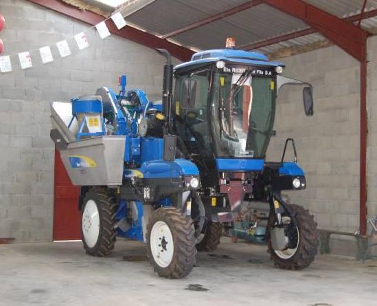 Engins agricoles - Machine pour ramasser les pommes ...